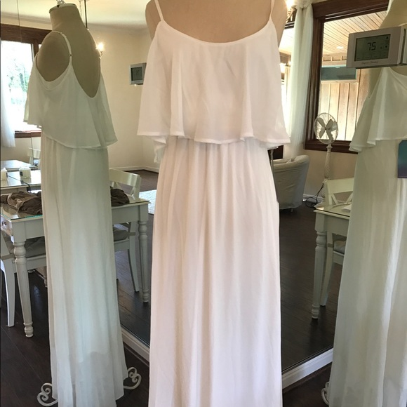 669be8c5302 Show Me Your MuMu- Caitlin Ruffle Maxi White