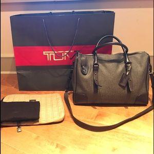 Tumi Handbags - Dove Gray Tumi Women's Breifcase