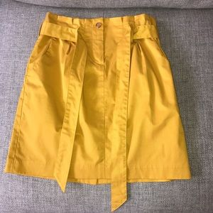 Mustard Yellow skirt from Banana Republic