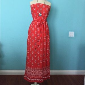 Old navy tube top long dress