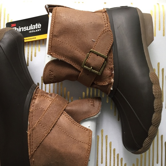 Sperry Rip Water Duck Boots 7
