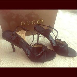 Gucci Shoes - Authentic Gucci sandals black size 37 or 7