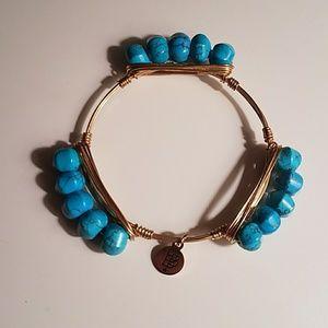 Bourbon and Bowties Jewelry - B&B bracelet turquoise