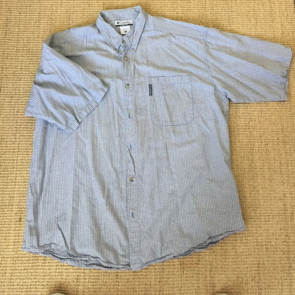 67 Off Columbia Other Mens Ss Columbia Button Down