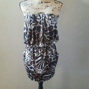 Monaco Strapless Dress