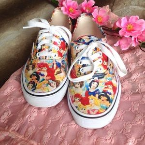 Vans Other - Vans Limited Edition Disney Princesses Sneakers
