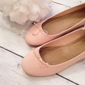 NWT Women's Pink Ballet Flat Shoes