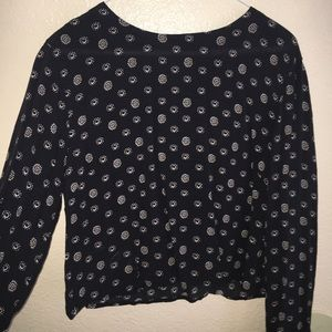 Kimchi Blue Tops - Cropped long sleeve