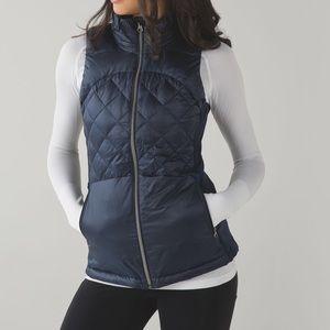 lululemon athletica Jackets & Blazers - Like new lululemon down for a run inkwell vest