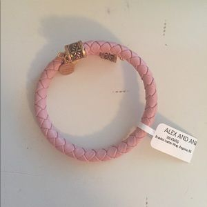Alex And Ani Jewelry - Alex and ani leather wrap bracelet