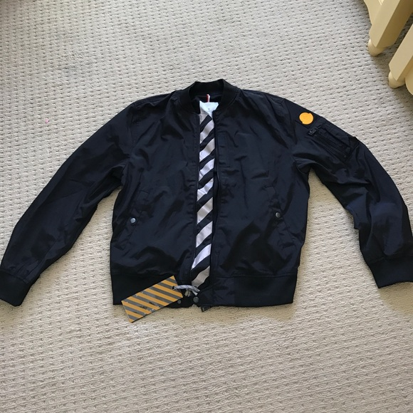 Moncler x Off-White Bomber Jacket Black