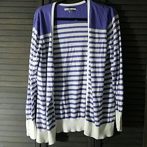 Old Navy Sweaters - Super Cute Striped Cardigan