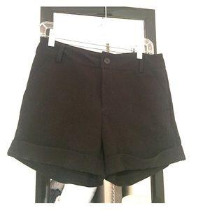 Black Shorts from Tobi