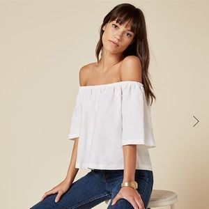 Reformation Tops - Reformation Tomato Top in White