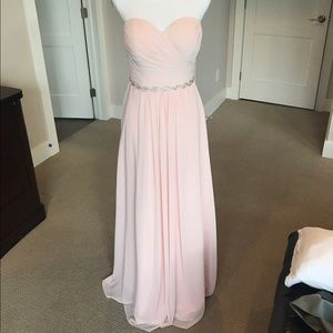 Bill Levkoff Dresses & Skirts - Bill Levkoff Strapless Sweetheart Bridesmaid Gown