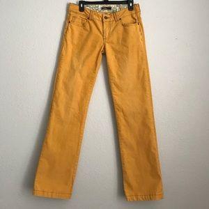Prana Pants - prAna Corduroy Yellow Boot Cut Pants Size 6