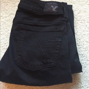 American Eagle Outfitters Denim - AE black jegging