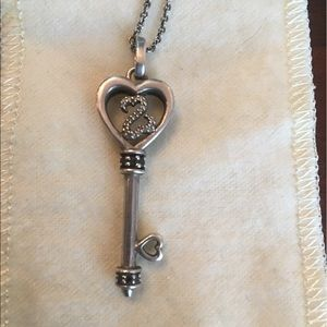 Kay Jewelers Jewelry - Jane Seymour Open Heart Collection Key Necklace