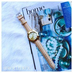 Accessories - Geneva Golden Watch