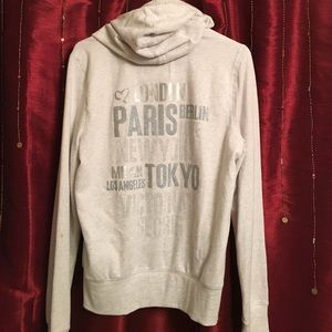 Victoria Secret Supermodel Essentials zip hoodie