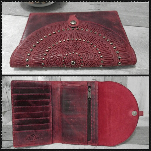 Patricia Nash - Distressed Leather Tooled Patricia Nash ...