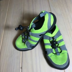 Old Navy Other - Old Navy neon green water shoes