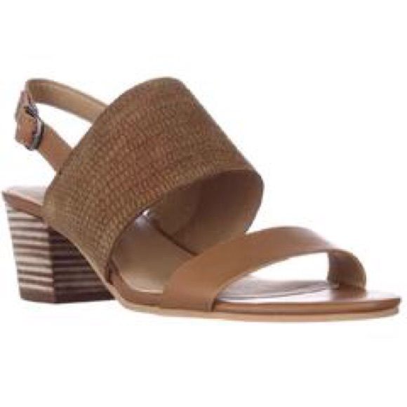a58be11f6c6 Lucky Brand Shoes - Lucky Brand Gewel Block Heel Sandals Brown Sugar 8