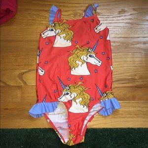 Mini Rodini Other - Mini rodini unicorn swimsuit nwot 5-7