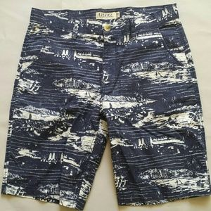 Ezekiel Other - Ezekiel flat front printed casual shorts