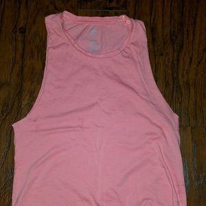 Hybrid Tops - Pink Muscle Tank Top