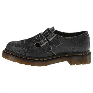 Dr. Martens Shoes - Dr. Martens Susy Crackle Leather Mary Jane Shoes