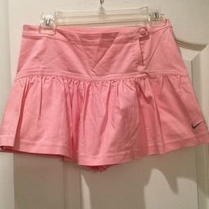 Nike pale pink skorts worn once size S