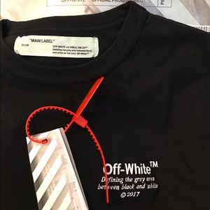 Off-White Other - OFF WHITE BLACK TSHIRT