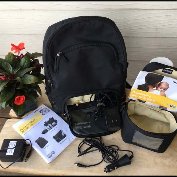 medela backpack pump instructions
