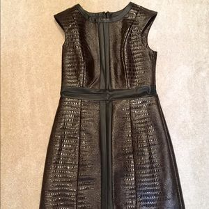 Mark by Avon Dresses & Skirts - 🎉Faux Leather Dress