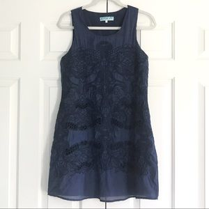 Aina Be Dresses & Skirts - Francesca's Aina Be Dress in Navy and Black