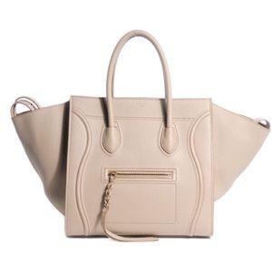 Celine Handbags - NWT CÉLINE PHANTOM PEBBLED CALFSKIN