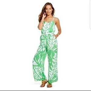 NWT lilly pulitzer for target green jumpsuit large