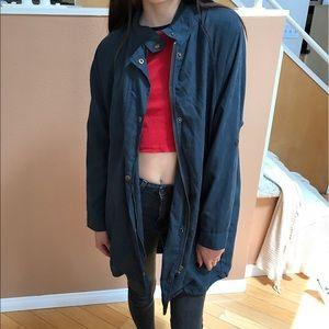 navy blue jacket BRANDY MELVILLE