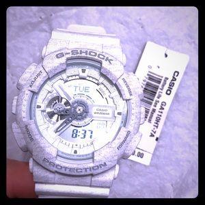 G-Shock Other - Gshock watch white/ grey. New nwt. Nice watch