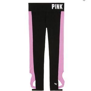 PINK VS leggings gym pants wrap leg