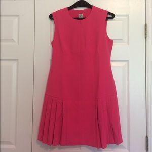 Anne Klein Dresses & Skirts - Anne Klein Zipper Front Pleated Hem Dress