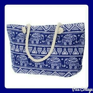 Jewely's Justifiables  Handbags - Elephant Beach Tote
