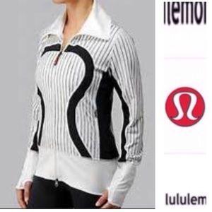 lululemon athletica Jackets & Blazers - Lululemon she bop striped jacket