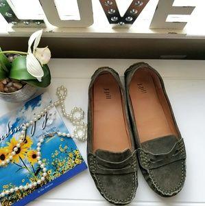 J. Jill Shoes - 💥🍃J.Jill Olive Green Loafers🍃🌻