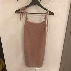 Audrey 3+1 Dresses & Skirts - Audrey 3+1 Pale Pink Shimmer Cocktail Dress