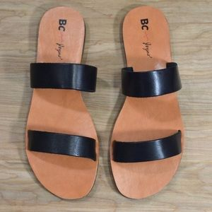 BC Footwear Shoes - BC Footwear for Joyus Minute Sandals in Leather