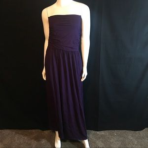 Rags and Couture Dresses & Skirts - 1209R R&C Purple Halter Maxi Dress Cover Up New