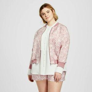 Victoria Beckham for Target Jackets & Blazers - Nwt Plus  Victoria Beckham Jaquard Zip Jacket 20