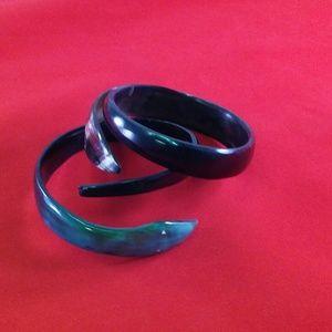 Jewelry - Zebu horn bracelets